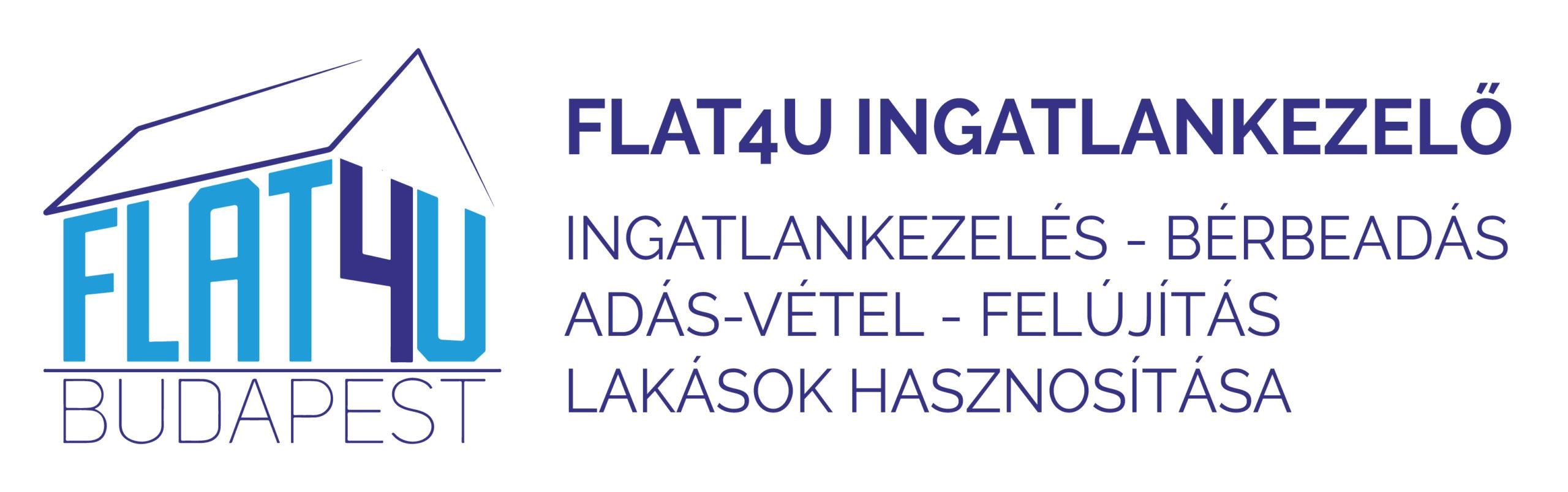 Flat4U Ingatlankezelő-Ingatlankezelés – Bérbeadás – Üzemeltetés
